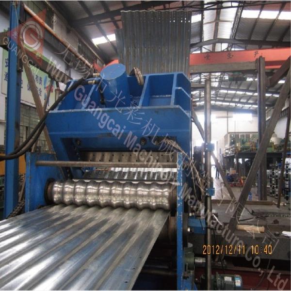 GWC14.5-80-1120 装配式波纹板钢板仓仓板设备